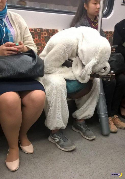 Модники в метро - 5