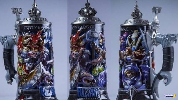 Что дарит Blizzard Entertainment своим сотрудникам?