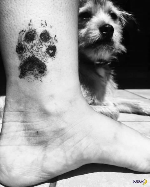 Чтобы была память о собаке