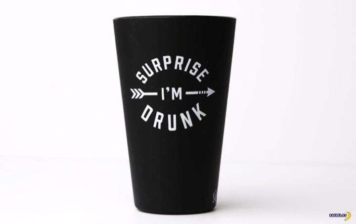 Силиконовый стакан для пива