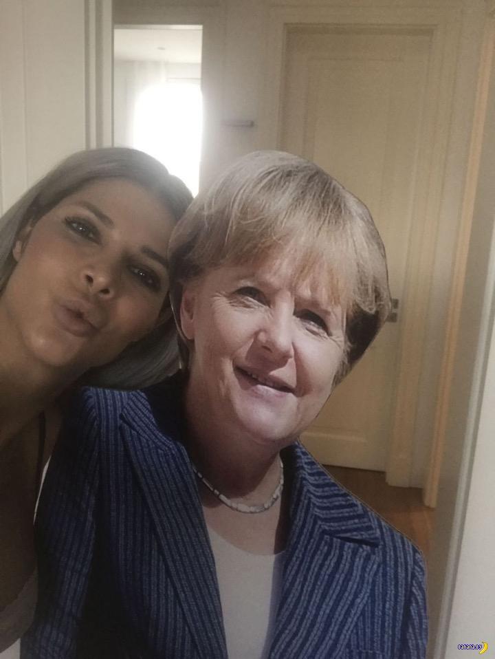 Микаэла Шефер с госпожой Меркель
