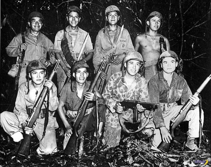 Кровожадные индейцы на Второй Мировой