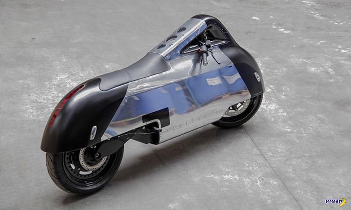 Концепт электрического скутера Vectrix VX-1