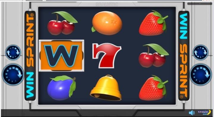Новый игровой автомат Win Sprint
