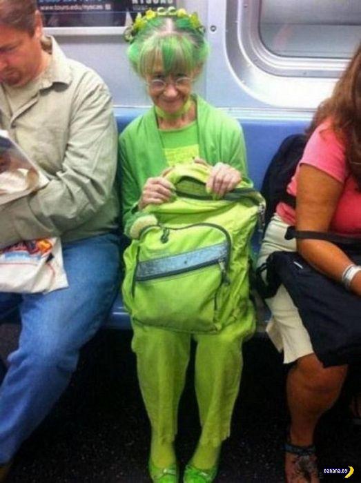 Модники в метро - 6