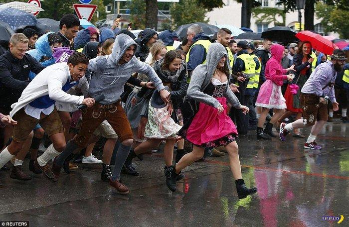 Октоберфест в Германии приближается к завершению