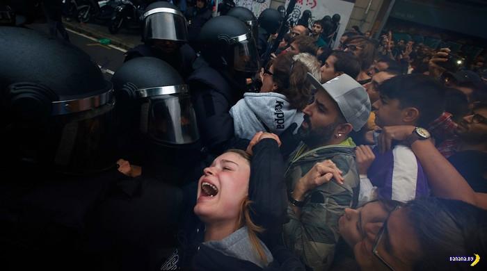 В Каталонии неспокойно