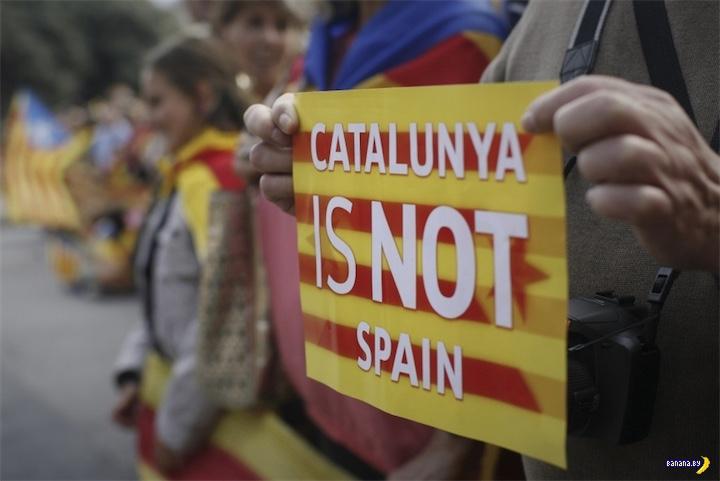 Итоги референдума в Каталонии