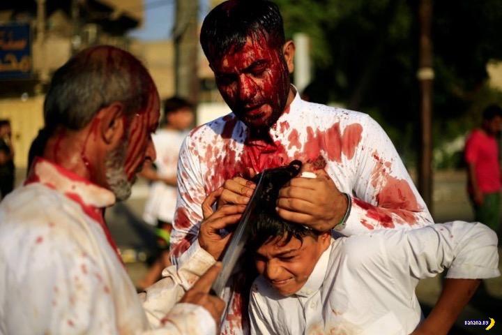 Мусульмане режут головы