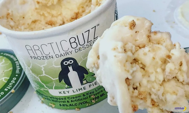 Пьяное мороженое Arctic Buzz