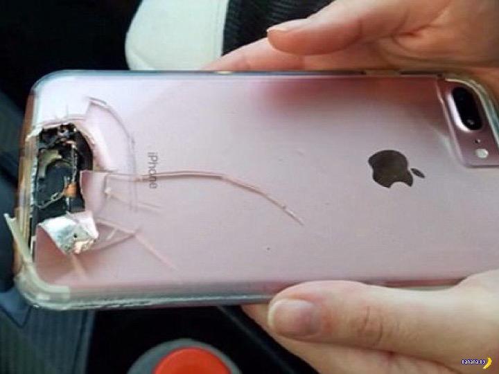 iPhone спас женщину от пули в Лас Вегасе