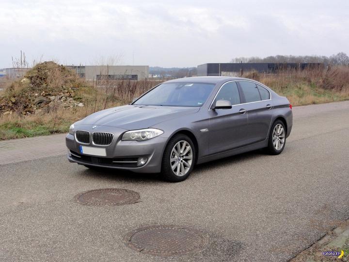 Капкан захлопнулся, BMW 525d xDrive забрали!