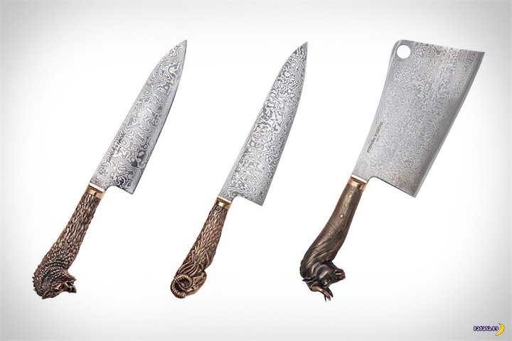 Набор ножей для олигарха