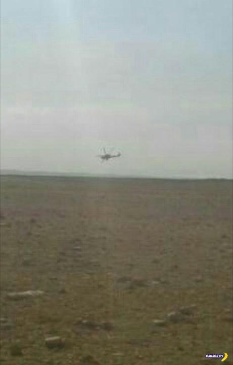 В Сирии или сбили российский вертолёт, или не сбили