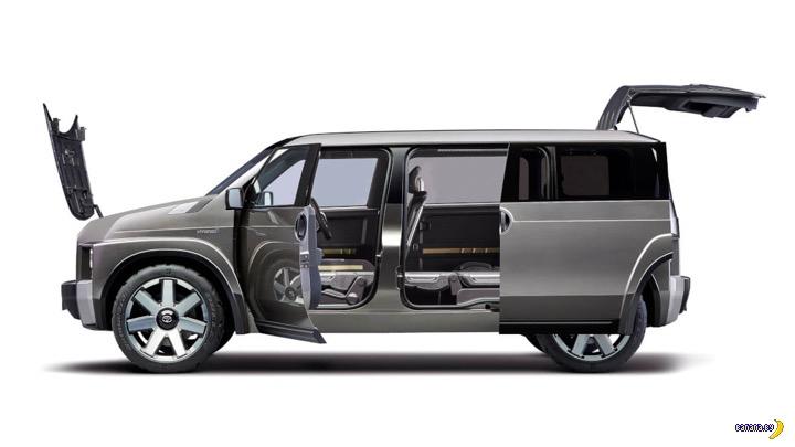А как вам Toyota Tj Cruiser?