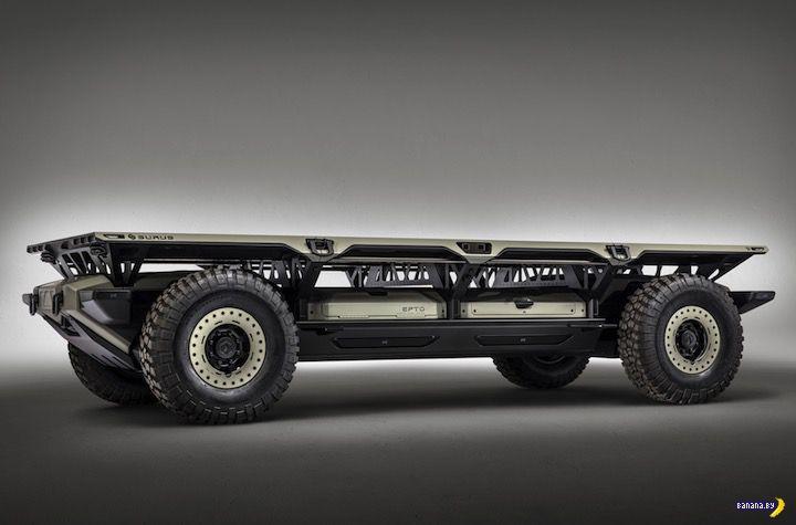 SURUS –будущее грузовиков глазами GM