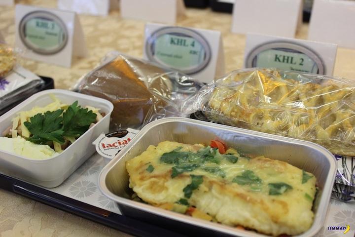 Чем будет кормить в полёте «Белавиа» в зимний период?