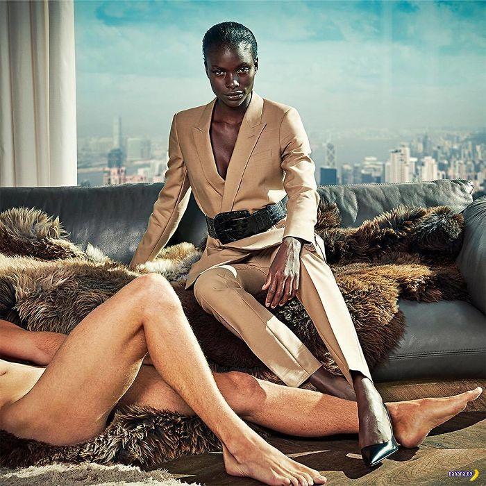 Оголтелый сексизм в рекламе?