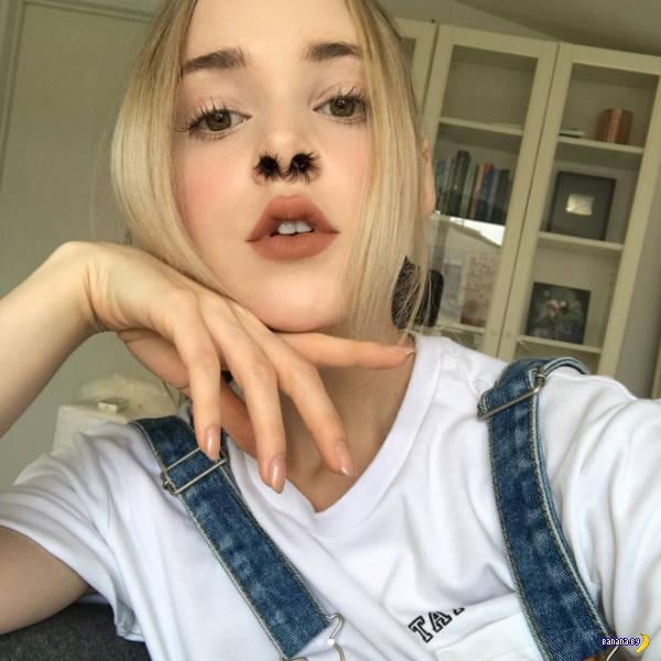 Волосы в носу
