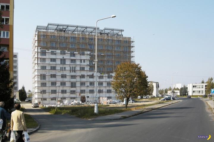 Как в Словакии делают из старых панелек элитное жилье