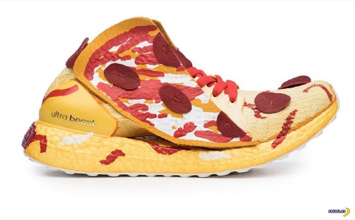 Кроссовки для любителей пиццы