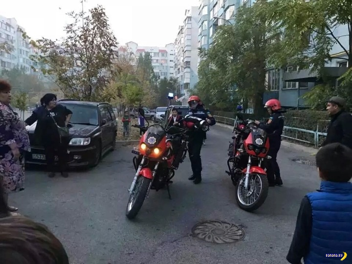 Мотопожарные!