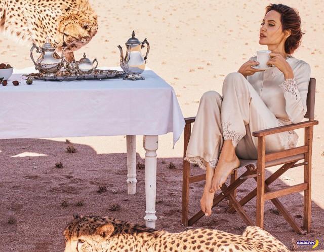Анджелина Джоли для Harper's Bazaar