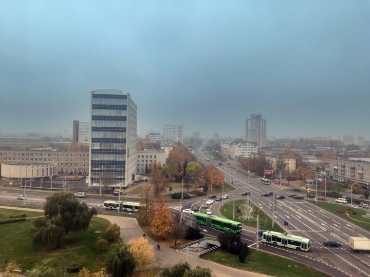 Погода: для середины октября –очень тепло