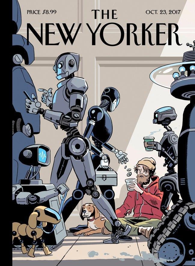 Крутая обложка свежего номера The New Yorker