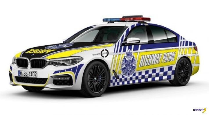 Полиция Австралии пересядет на BMW