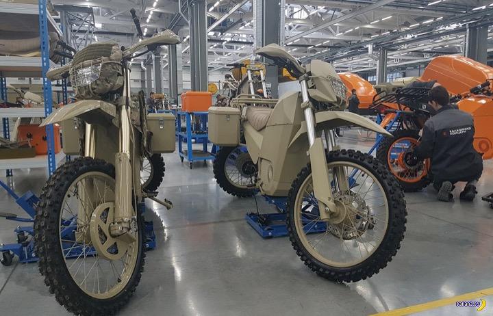 Калашников – теперь еще и мотоциклы!