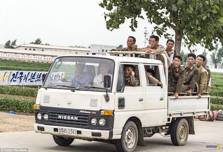 Не парадные фото армии КНДР