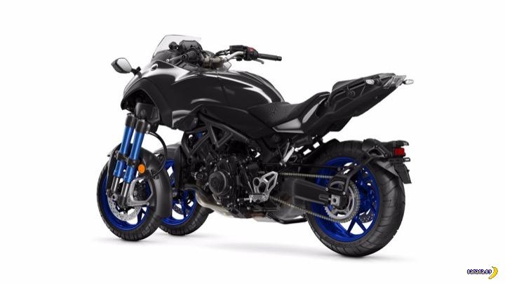 Yamaha Niken - три колеса!