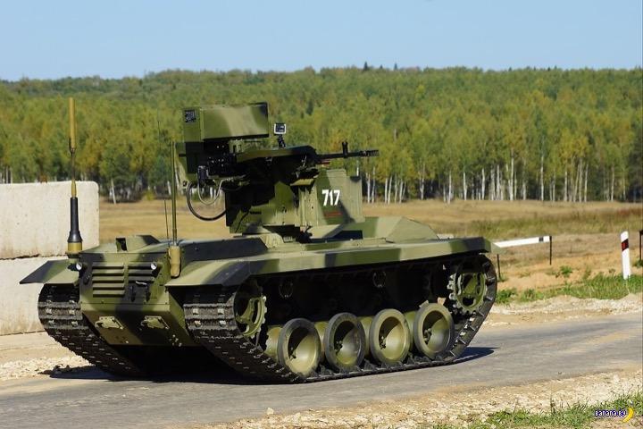 Российский боевой робот «Нерехта» пойдёт служить