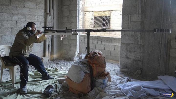 Снайперское оружие в ИГИЛ