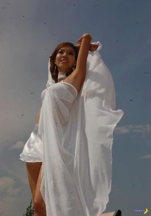 Монгольские девчата