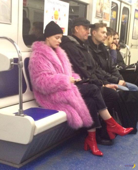 Модники в метро - 7