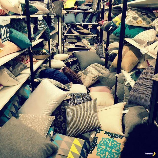 Тотальный хаос в магазинах