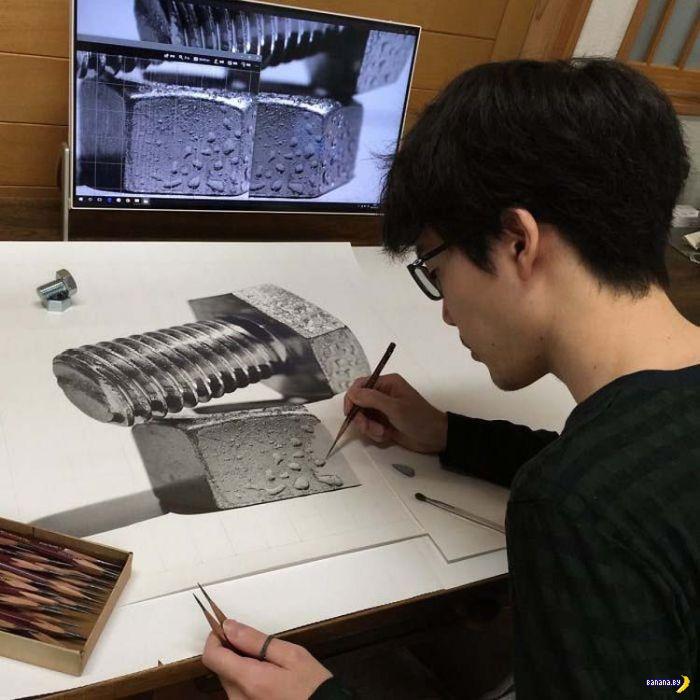Японец, что рисует болт