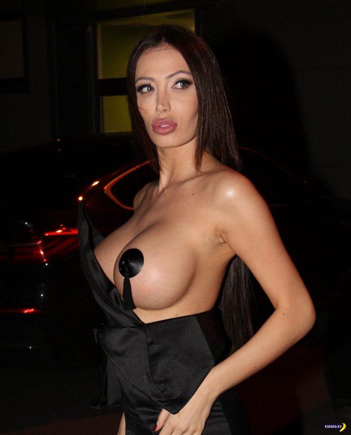 Сорайя Вучелич –с грудью наперевес