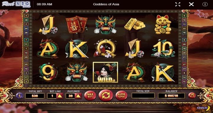 Новый игровой автомат Goddess of Asia