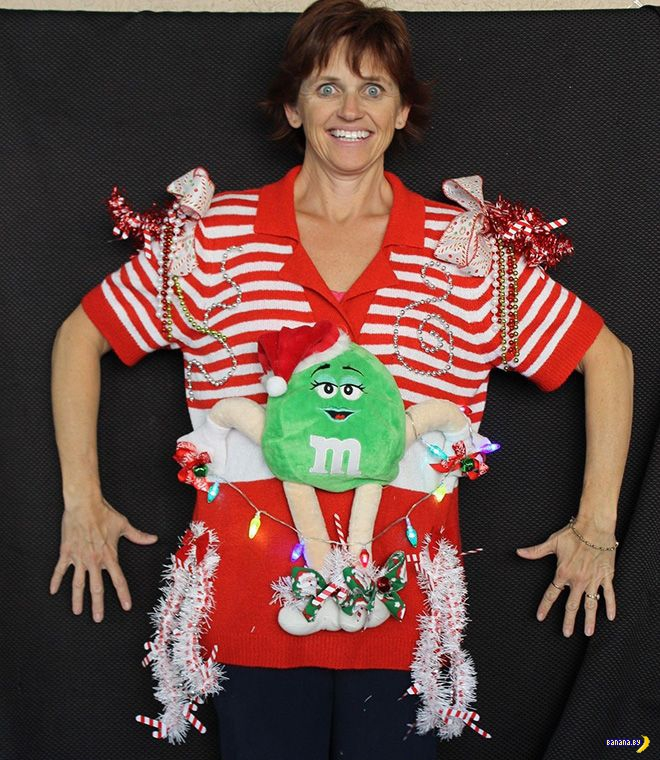 Продажа рождественского свитера