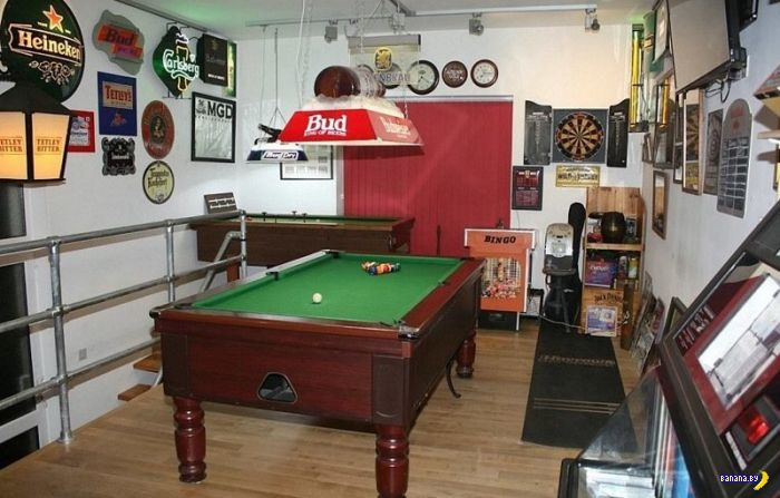 Лучшие man caves Великобритании