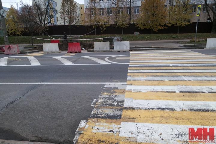 Специальная клумба на Некрасова в Минске
