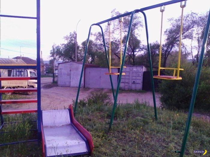 Тихий адок детских площадок