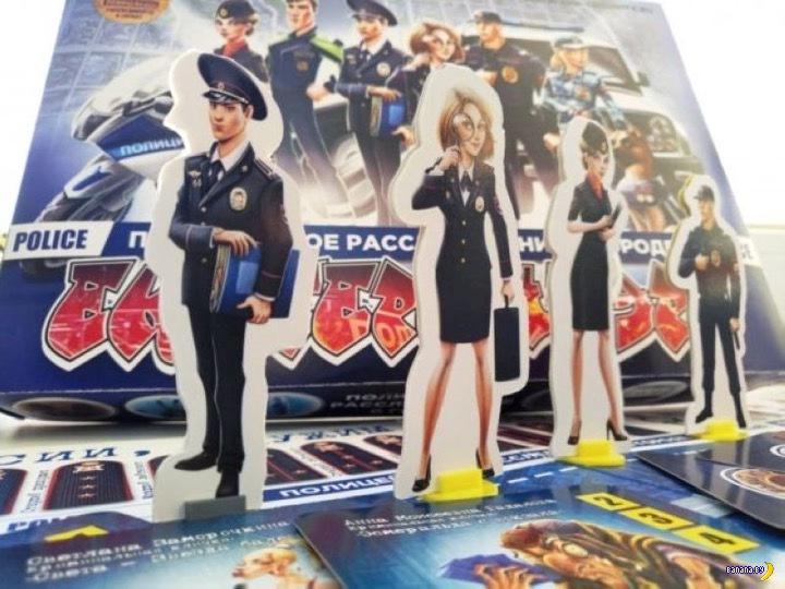 Карточная игра с полицейскими
