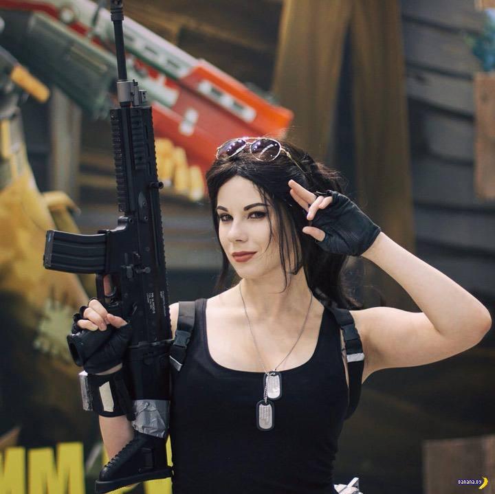 Косплей и Анастасия Зеленова