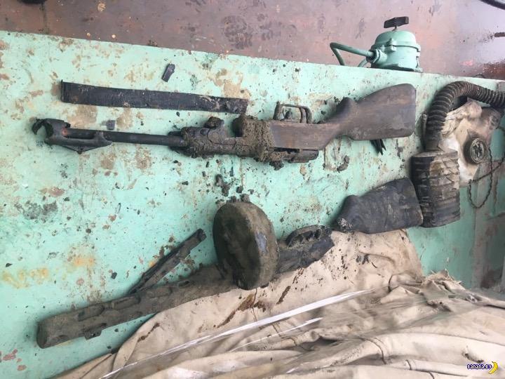 Подняли из Волги бронекатер БК-31