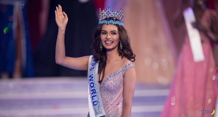 Новая Мисс Мира –Мануши Чхиллар