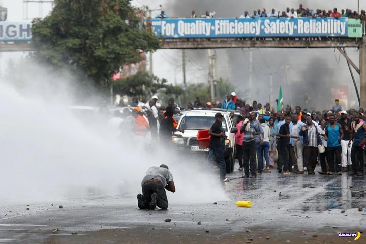 Беспорядки в Кении